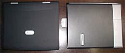 Desknote A929 combo と Compaq Evonote N1015v