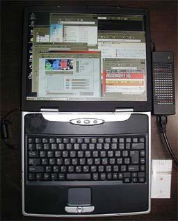 Desknote A929 combo Windows98SEインストール後の画面