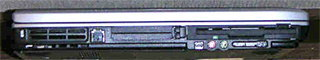 hp nx9005 左側面