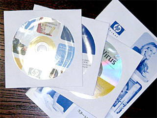 hp nx9005 添付CD 3枚+添付マニュアル
